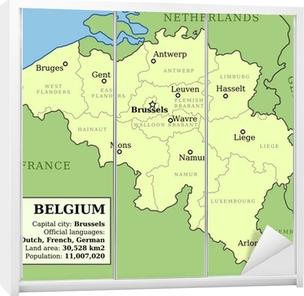 Belgian Kartta Pixerstick Tarra Pixers Elamme Muutoksille