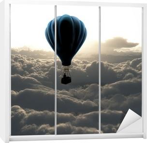 Ilma ilmapallo taivaalla Vaatekaappitarra
