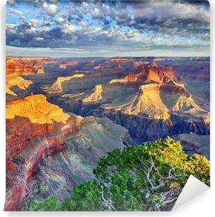 Aamuvalo Grand Canyoniin Vinyyli valokuvatapetti