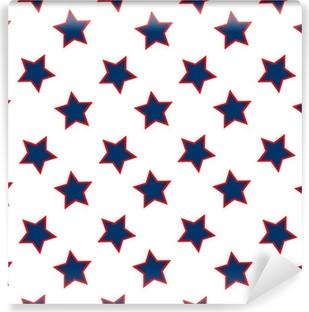 Amerikkalaisia tähtiä lippu kuvio Vinyyli valokuvatapetti
