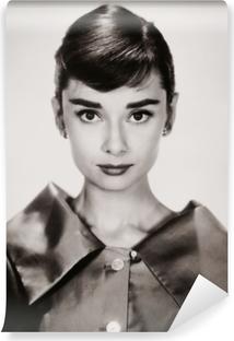 Audrey hepburn Vinyyli valokuvatapetti