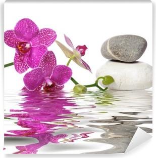 Einfach schöne orchideen Vinyyli Valokuvatapetti