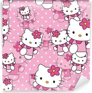 Hello Kitty Vinyyli valokuvatapetti