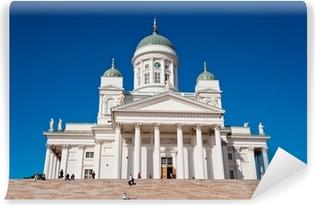 Helsinki katedraali, suomi Vinyyli valokuvatapetti