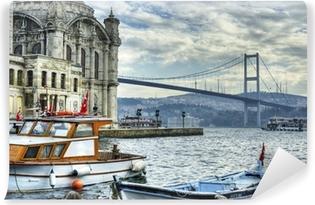 Jossa kaksi maanosaa tapaa: istanbul Vinyyli valokuvatapetti