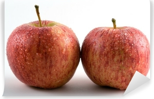 Kaksi omenaa Vinyyli valokuvatapetti