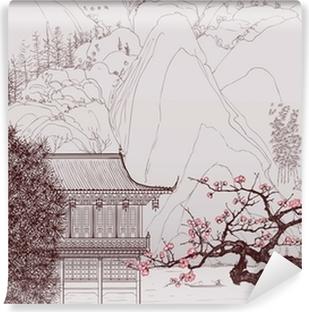 Kiinalainen maisema Vinyyli Valokuvatapetti