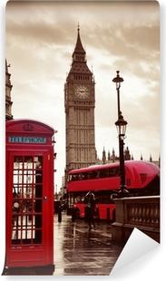 London kadulla Vinyyli valokuvatapetti