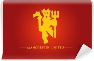 Manchester United Vinyyli valokuvatapetti
