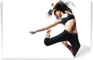 Moderni tanssija Vinyyli valokuvatapetti