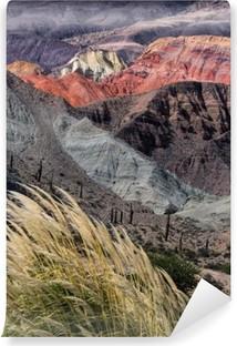 Montañas en salta, argentiina Vinyyli valokuvatapetti