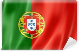 Portugalilainen lippu Vinyyli valokuvatapetti