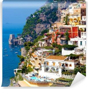 Positano, italia. amalfin rannikolla Vinyyli valokuvatapetti