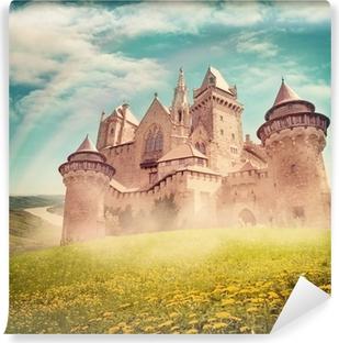 Satu prinsessa linna Vinyyli valokuvatapetti