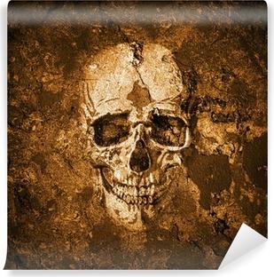Totenkopf hintergrund Vinyyli valokuvatapetti
