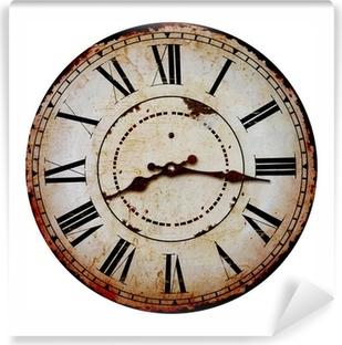 Vanha kello Vinyyli valokuvatapetti