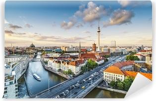 Berlin, Tyskland Eftermiddag Bybillede Vaskbare fototapet