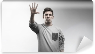 Vaskbar fototapet Lionel Messi