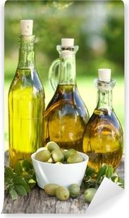 Vaskbar fototapet Olivenöl