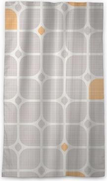 Verduisterend gordijn Naadloze geometrische patroon