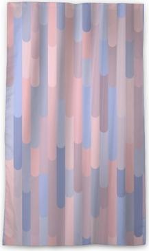Verduisterend gordijn Verticale strepen vector naadloze patroon. Achtergrond textuur in trendy kleuren 2016: rozenkwarts