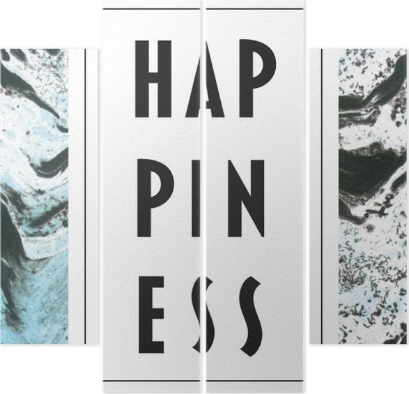 Vierluik Happiness -