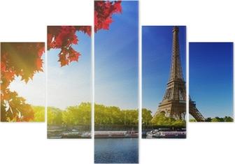 Vijfluik Kleuren van de herfst in Parijs
