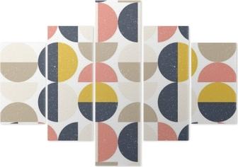 Behang Kinderkamer Scandinavisch : Fotobehang modern vector abstract naadloos geometrisch patroon met