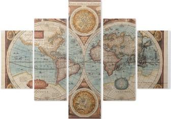 Vijfluik Oude kaart (1626)