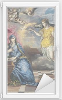 El Greco - Bebudelsen Vindue og glas klistermærke