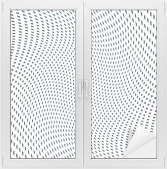Moire mønster, op kunst baggrund. Hypnotic baggrund med geometr Vindue og glas klistermærke