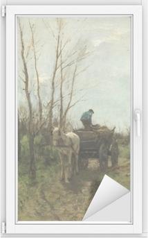 Vindu- og glassklistremerke Anton Mauve - Samling af træ