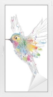 Vindu- og Glassklistremerke Kolibri