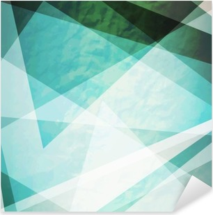 Vinilo Pixerstick Abstracción triángulos retro grunge fondo del vector