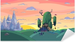 Vinilo Pixerstick Adventure Time: Fort