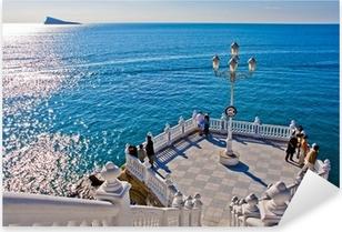 Vinilo Pixerstick Benidorm - Mirador del Mediterraneo