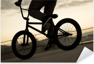 Vinilo Pixerstick Bicicleta de la vendimia