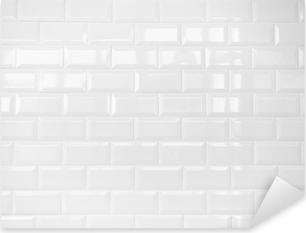 Vinilos azulejos pixers vivimos para cambiar for Vinilos pared blancos