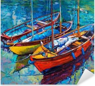 Vinilo Pixerstick Boats
