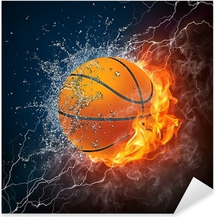 Vinilo Pixerstick Bola del baloncesto
