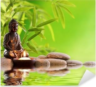 Vinilo Pixerstick Buda zen