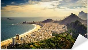 Vinilo Pixerstick Copacabana Beach