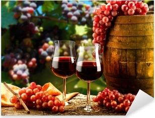 Vinilo Pixerstick Copas de vino