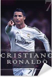 Vinilo Pixerstick Cristiano Ronaldo