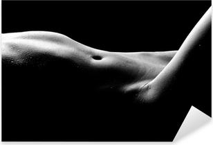 Vinilo Pixerstick Desnudo Bodyscape Imágenes de una mujer