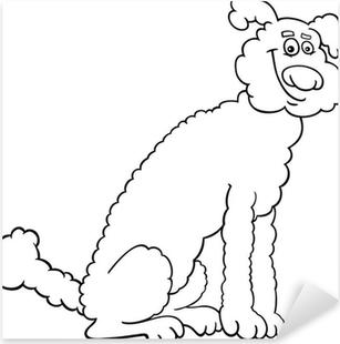 Vinilo Pixerstick Pobres Para Colorear Perro Sin Hogar Pixers