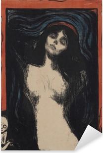 Vinilo Pixerstick Edvard Munch - Virgen