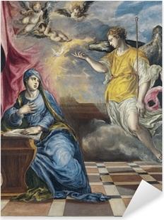 Vinilo Pixerstick El Greco - La Anunciación