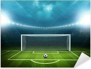 Vinilo Pixerstick Estadio con balón de fútbol