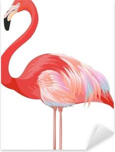 Vinilo Pixerstick Flamingo